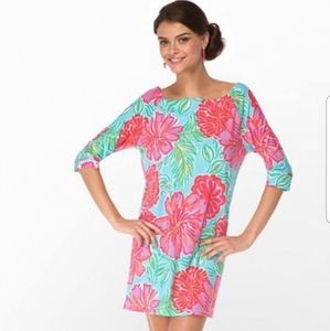 Lilly Pulitzer Shorely Blue Bellina Cassie Dress